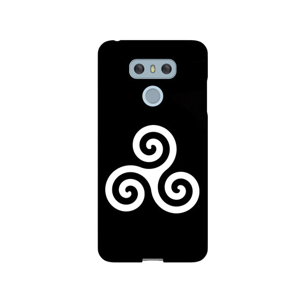 Alpha Beta Omega White LG and Google Pixel Snap or Tough Phone Case
