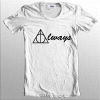 Always Deathly Hallows Harry potter Women T-shirt