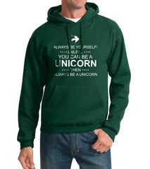 Always Be Yourself Unless You Can Be A Unicorn Unisex Pullover Hoodie Adult