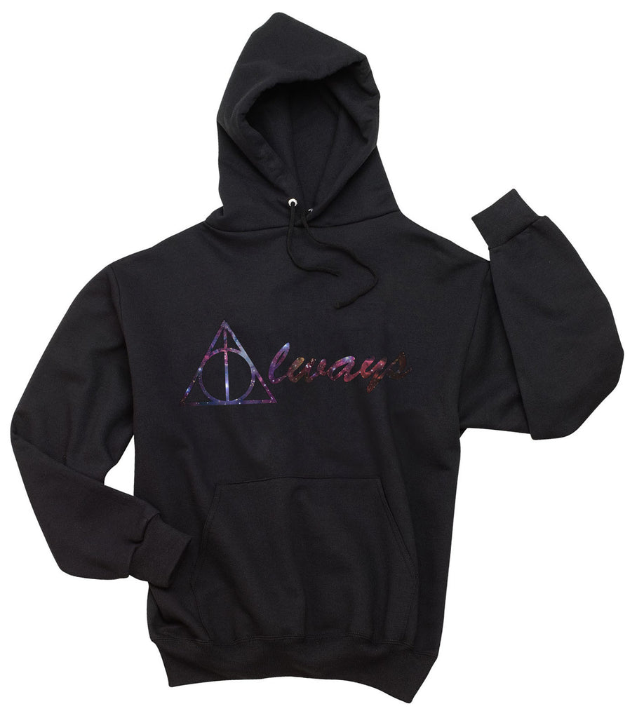 Always Nebula Deathly Hallows Harry potter Unisex Pullover Hoodie - Meh. Geek