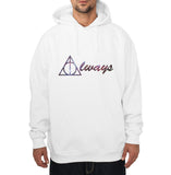 Always Nebula Deathly Hallows Harry potter Unisex Pullover Hoodie Adult