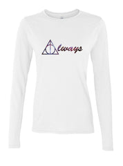 Always Deathly Hallows Nebula Harry potter Long sleeve T-shirt for Women - Meh. Geek - 1