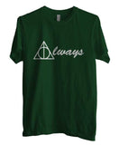 Always Deathly Hallows Harry potter Men T-shirt