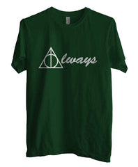 Always Deathly Hallows Harry potter Unisex Men T-shirt - Meh. Geek - 1