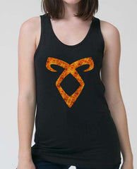 Angelic FIRE Women Tank Top - Meh. Geek - 2