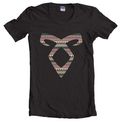Angelic Power Runes BOHO Women T-shirt - Meh. Geek - 3
