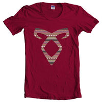Angelic Power Runes BOHO Women T-shirt
