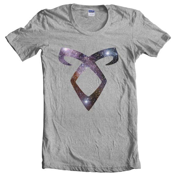 Angelic Power Runes GALAXY Women T-shirt - Meh. Geek - 1