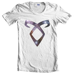 Angelic Power Runes GALAXY Women T-shirt - Meh. Geek - 2