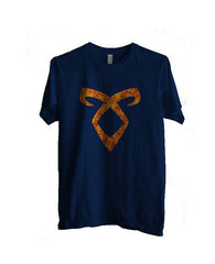 Angelic Power Runes FIRE Men T-shirt - Meh. Geek - 4
