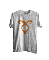 Angelic Power Runes FIRE Men T-shirt - Meh. Geek - 5