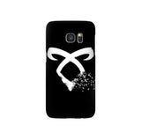 Angelic Runes Birds Samsung Galaxy Snap or Tough Case