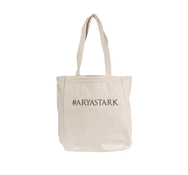 Arya Stark HashtagTote bag BE008 12 OZ