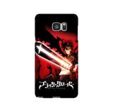 Asta Black Clover Samsung Galaxy Snap or Tough Case