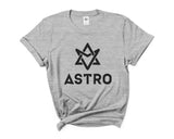 Astro Bw K-Pop Women T-shirt Tee
