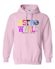 Astroworld Look Mom I can Fly Unisex Pullover Hoodie PA