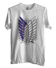 Attack on Titan Blue Ink Singeki no Kyojin Unisex Men T-shirt - Meh. Geek - 4