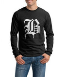 B Beyond Birthday Death Note Manga Anime Men Long Sleeve T-shirt tee
