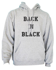 Back In Black Unisex Pullover Hoodie - Meh. Geek - 3