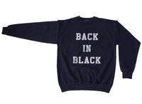 Back In Black Unisex Crewneck Sweatshirt - Meh. Geek - 5