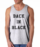 Back In Black Men Tank Top - Meh. Geek - 2