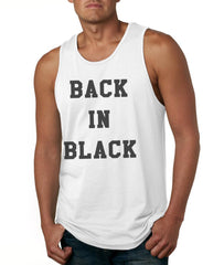 Back In Black Men Tank Top - Meh. Geek - 4