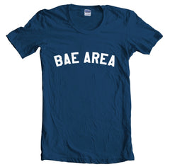 Bae Area Flag Map Women T-shirt - Meh. Geek