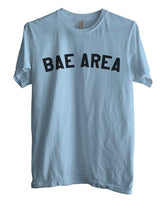Bae Area Flag Map black Ink Unisex Men T-shirt - Meh. Geek - 2