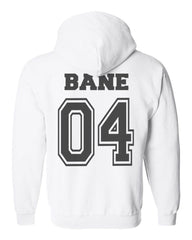 Bane 04 Idris University Unisex Pullover Hoodie Navy, White, Royal, Deep Forest, Light Steel
