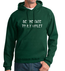 Be The Tate To My Violet Unisex Pullover Hoodie - Meh. Geek - 2