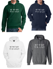 Be The Tate To My Violet Unisex Pullover Hoodie - Meh. Geek - 1