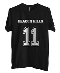 Beacon Hills Lacrosse Wolf 11 Unisex Men T-shirt - Meh. Geek - 2