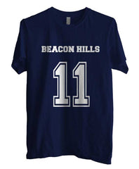 Beacon Hills Lacrosse Wolf 11 Unisex Men T-shirt - Meh. Geek - 3