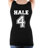 Hale 4 on BACK Beacon Hills Lacrosse Wolf on FRONT Women Tank Top - Meh. Geek - 2