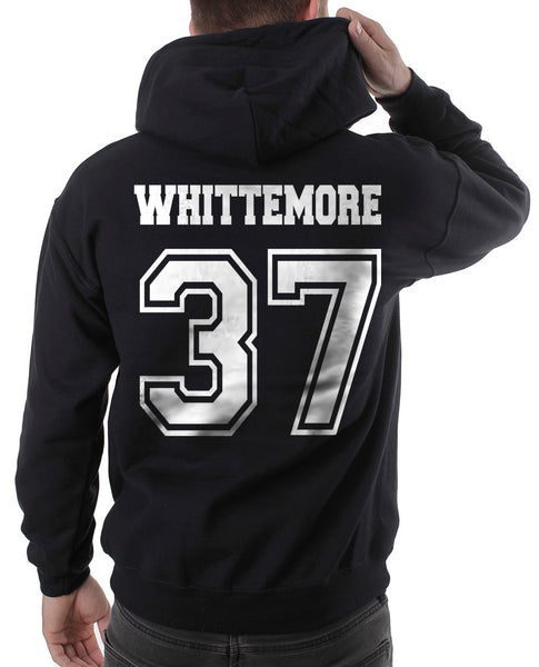 Whittemore 37 White Ink on Back Beacon hills lacrosse Pullover Hoodie - Meh. Geek