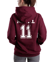 MCCALL 11 on back Beacon hills lacrosse on front Scott Mccall Teen Wolf Pullover Hoodie - Meh. Geek - 3