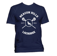 Beacon Hills Lacrosse Wolf Teen Wolf Men T-shirt Tee