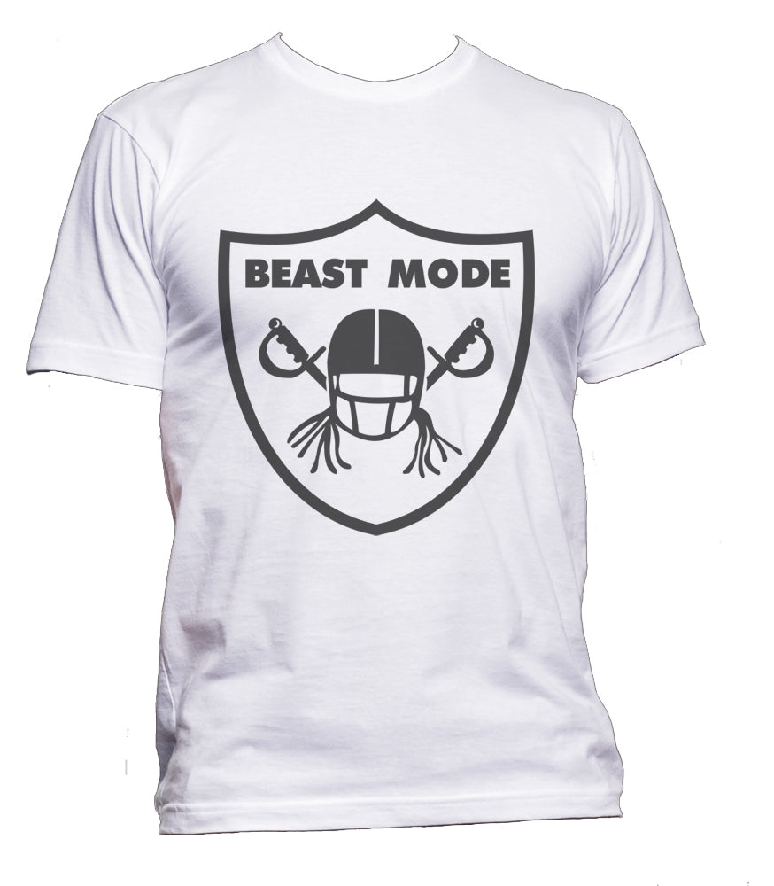 Beast Mode 1 Marshawn Lynch Men T-shirt / Tee