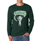 Big Rick Men Long Sleeve T-shirt Tee