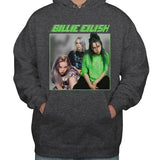 Billie Eilish 90's Green Unisex Pullover Hoodie Adult