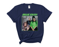 Billie Eilish 90's Green Women T-shirt Tee