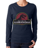 Billy and the Cloneasaurus Long sleeve T-shirt for Women