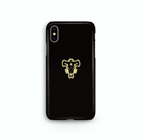 Black Bull Black Clover iPhone Snap or Tough Case