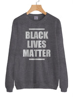 Black Lives Matter Unisex Crewneck Sweatshirt Adult