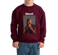 Blond Cover Kid / Youth Crewneck Sweatshirt