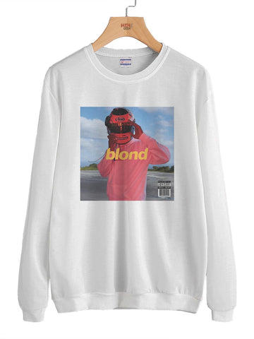 Blond Endless Frank ocean Cover Unisex Crewneck Sweatshirt Adult