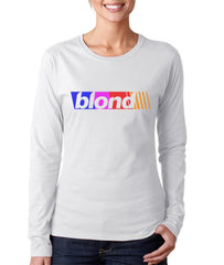 Blond Mid Nascar Long sleeve T-shirt for Women PA