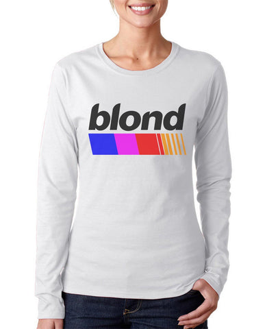 Blond Nascar Top Long sleeve T-shirt for Women PA