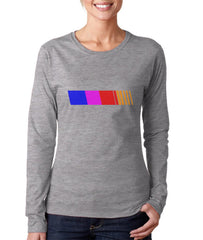 Frank Ocean Rainbow Long sleeve T-shirt for Women PA