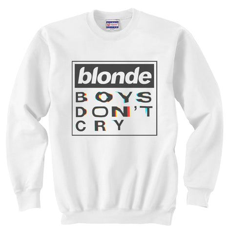 Blond Boys Don't cry Frank ocean Unisex Crewneck Sweatshirt Adult